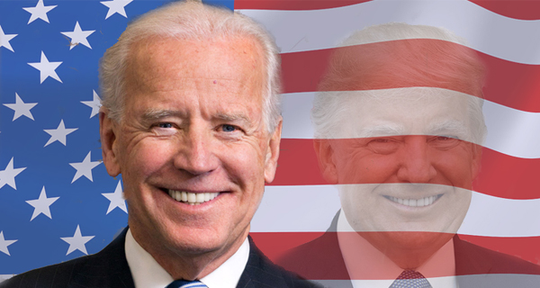 Donald Trump. Foto: Official White House Photo, Shealah Craighead, gemeinfrei (public domain), Joe Biden. Foto: Andrew Cutraro, White House photographer. Gemeinfrei (public domain)